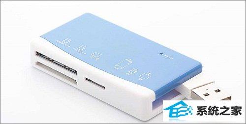 win7系统电脑插入读卡器不显示内存卡或TF卡的解决方法
