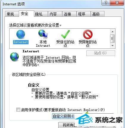win8.1系统浏览器禁用javascript引擎导致网页显示不正常的解决方法